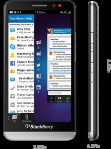 Blackberry Z30 Latest business mobiles