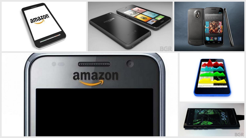 Amazon 3D Smartphone Design Concepts