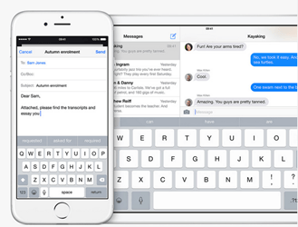 New Features in iOS 8 Keyboard