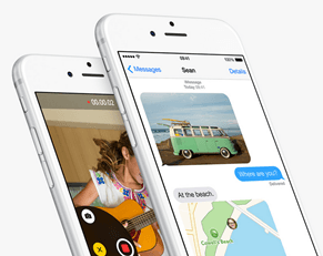 New Features in iOS 8 - Messages