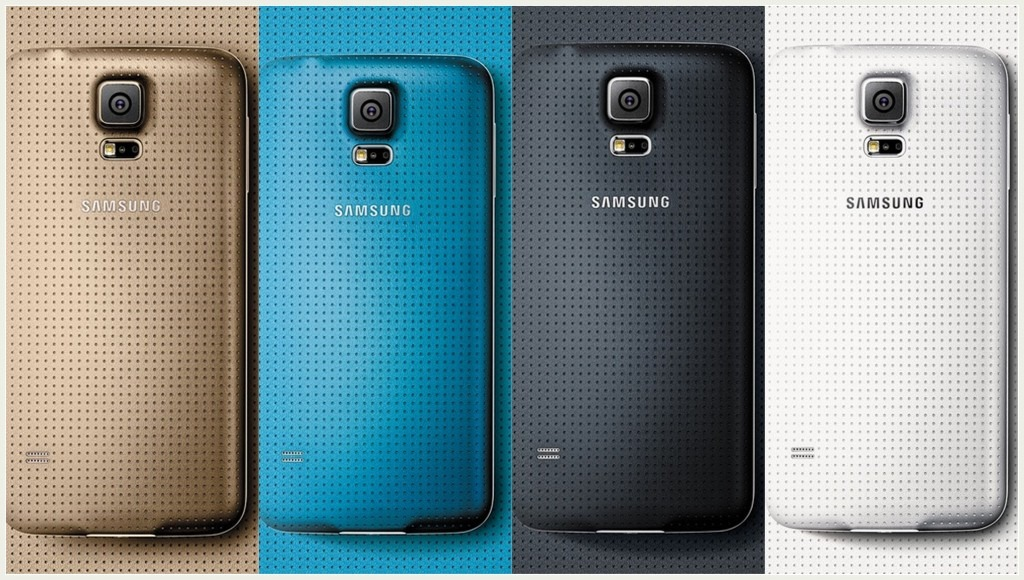 Samsung Galaxy S5 All Colours