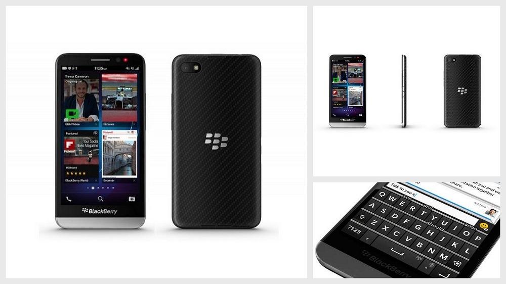 Smartphones Blackberry Z30