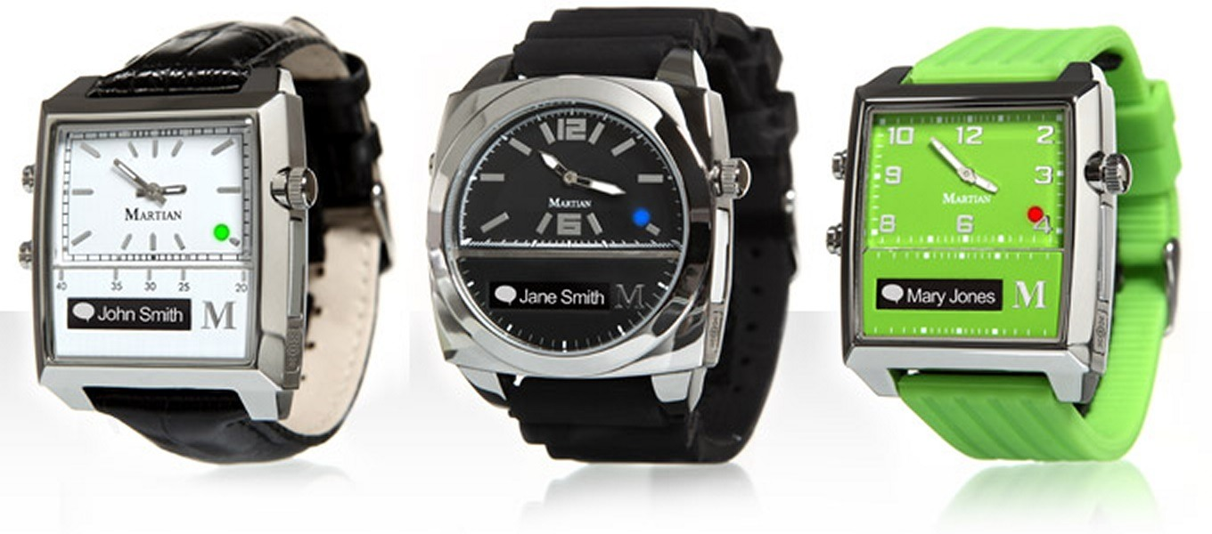 smartwatch compatible with iPhone martian watches