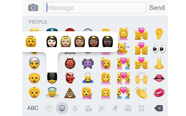 Apple releases software update IOS 8.3 emojis in different skin tones