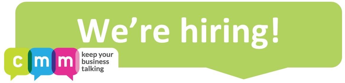 We're hiring 2