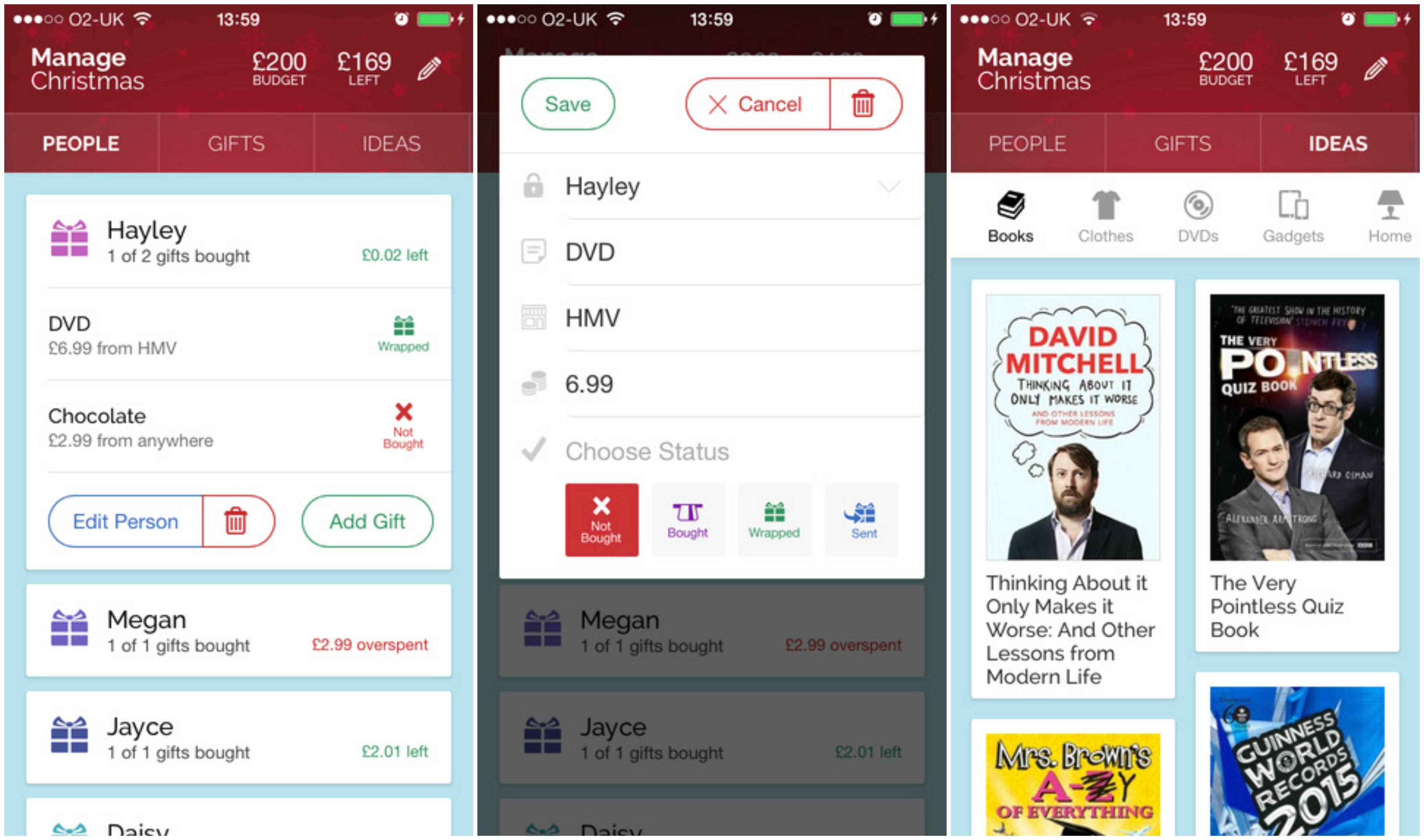 manage-christmas-app