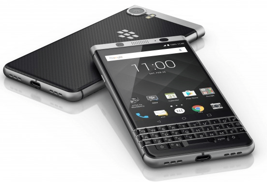 Blackberry Keyone Top new phones released at the Mobile Congress