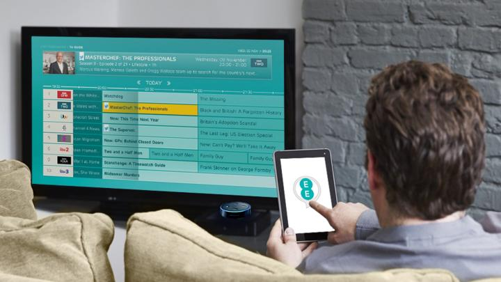 EE TV now features Amazon's Alexa